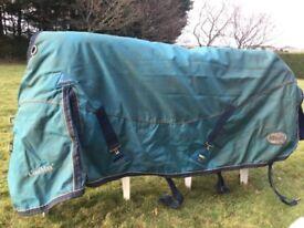 Horse bits, rug, boots, jodhpurs