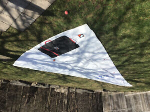 CS 22 jib sail *(#2) for sale-used twice.  Still crisp.