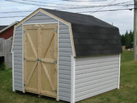 NEW YARD SAMPLE SHED