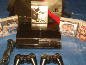 Selling a broken fat ps3 60 gig West Island Greater Montréal image 2