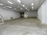 INDUSTRIAL BUILDING WITH ATTACHED GARAGE - FOR LEASE