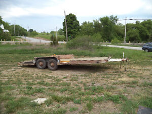 Trailer 20ft Tandom Axle with Electric Brakes