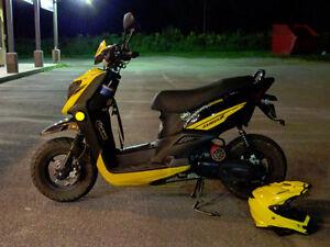 Yamaha Zuma X 2014 4t modifié 70cc Gatineau Ottawa / Gatineau Area image 4