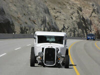 Hot Rod, Rat Rod, Model A Ford Pick-up 327