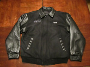 Mack Jacket- Leather and wool -  not used Edmonton Edmonton Area image 1