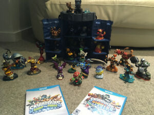 Wii U - Skylanders Swap Force AND Skylanders Giants complete set