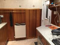 Selling kitchen work tops,solid wood units,sink,oven,hob wash machine .