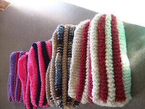 4 paires de pantoufles tricotées idéal pour bas de Noel