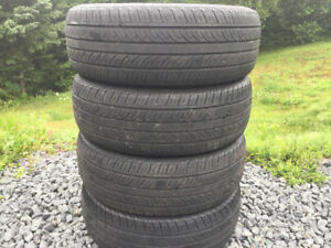 Four 195/65R15 Summer Tires