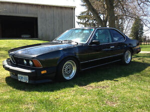 1987 BMW L6-Series Coupe (2 door) Rare, Classic, Coupe