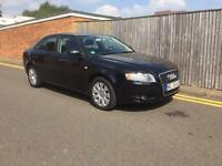 Audi A4 TDI 2007 121K BLACK LHD LEFT HAND DRIVE GERMAN REGISTERED