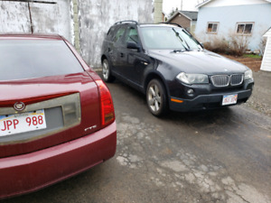 2008 BMW x3 for sale or trade 5000$