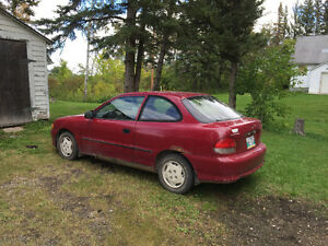 1999 Hyundai Accent Coupe (2 door)