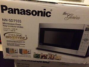New Panasonic microwave  St. John's Newfoundland image 1