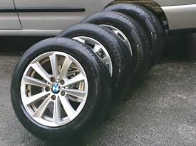 BMW 5 SERIES WHEELS ALLOYS F10 F11 R17 225x55x17