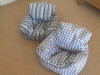Jo Jo Maman Bebe toddler beanbag chairs