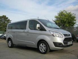 Ford Tourneo Custom 300 L2 125PS Titanium 9 Seat One Owner