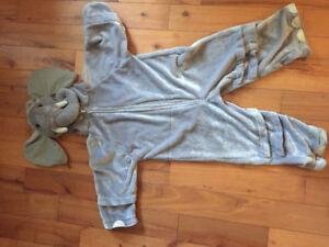 Kids Elephant Halloween costume.