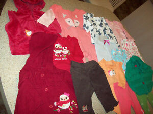 Gymboree 3-6 Month Baby Girl Winter Lot 14 Pcs. Exc. Condition