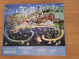 San Francisco Bay Puzzle 1000 pieces