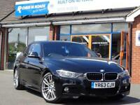 2013 63 BMW 3 SERIES 318D M SPORT 4DR * LEATHER UPGRADE ALLOYS * DIESEL