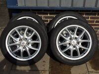 "Porsche Cayenne 19"" alloy wheels with 275/45/19 tyres"