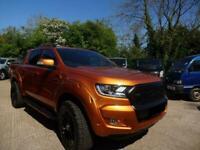 Ford Ranger Wildtrak 213PS Auto Graphite The Orange One £35495 + VAT