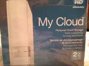 My Cloud 2 TB Personal Cloud Storage *BRAND NEW, NEVER USED*