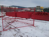 Temporary Construction Fence Panels (Portable)