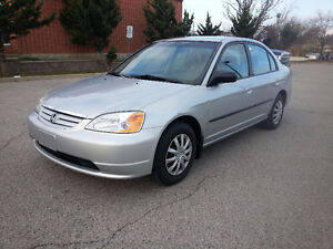 2003 Honda Civic DX-G | CERTIFIED | WARRANTY INCLUDED!