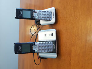 Set of Vtech cordless home phones