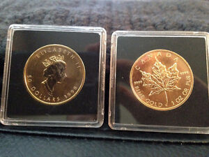 Canadian Pure Gold Coin 1998