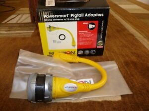 Powersmart Pigtail Adapter (30 Amp to 15 Amp Plug)