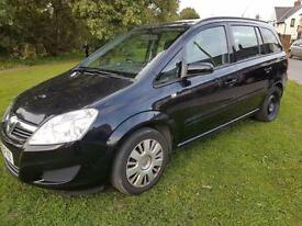 Vauxhall Zafira 1.6 16v 2008 7 seater Exclusive PX Swap Anything considered