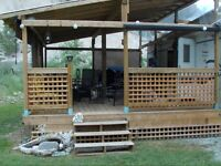 QUALITY DECKS, FENCES, PATIO'S & RETAINING WALLS