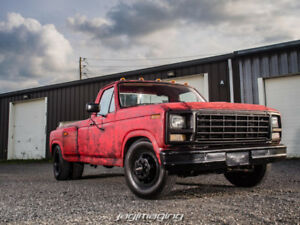 1980 Ford F350 roues double (dually)