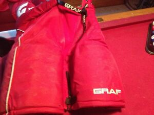 RED Hockey PANTS - GRAF G700