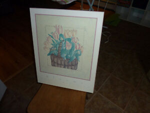 For Sale - Tulip Print-Perma Placqued