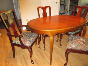 Dining Table Chairs With Matching Buffet
