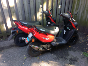 Two 2006 BWS/Zuma Gas Scooters for parts
