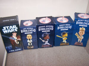5 NEW YORK YANKEE bobbleheads - NIB