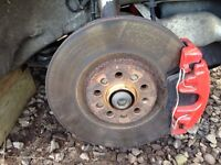 VAG BIG BRAKES 312MM GOLF BORA TT A3 S3 FABIA VRS POLO