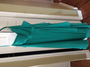 Size 22 teal gown
