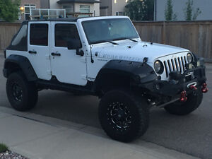2013 Jeep Wrangler Rubicon custom 4x4