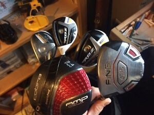 Taylormade. Ping.  Cobra golf clubs