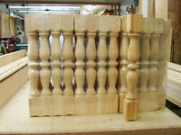 Wood Spindles - New