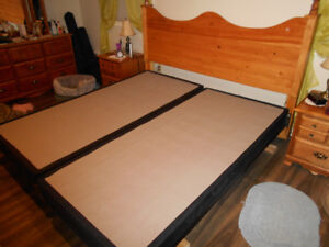 PRICE REDUCED KING SIZE BED