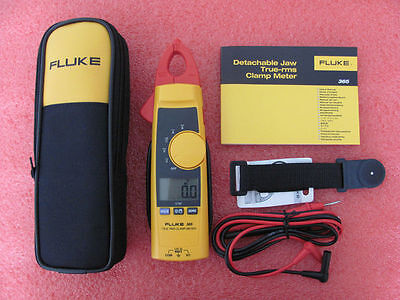 New Fluke 365 True-rms Ac Clamp Meter With Detachable W Case Jaw Usa Seller
