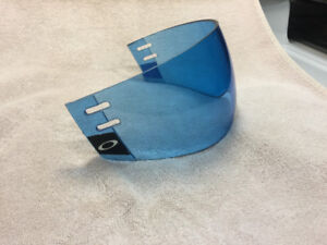 Oakley aviator hockey visor blue tint * extremely rare *