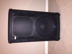 "Yorkville NX25P-2 300 Watt 12""+1"" PA Speaker with Mic/Line Mix"
